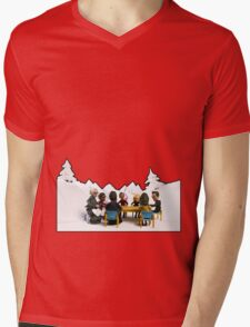 The Study Group's Winter Wonderland - Style B Mens V-Neck T-Shirt