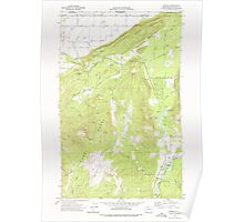 USGS Topo Map Washington State WA Kendall 241754 1972 24000 Poster