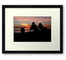 Together, End of Day ♥ Framed Print