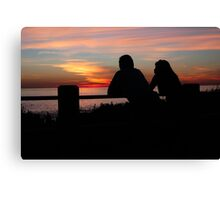 Together, End of Day ♥ Canvas Print