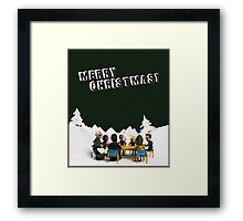The Study Group's Winter Wonderland - Merry Christmas Framed Print