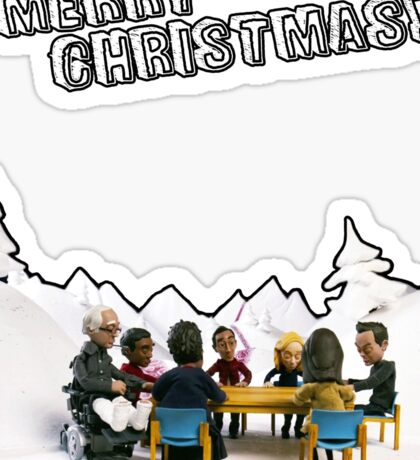 The Study Group's Winter Wonderland - Merry Christmas Sticker