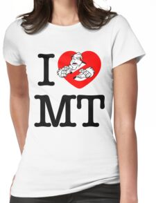I PNW:GB MT (white) Womens Fitted T-Shirt