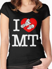 I PNW:GB MT (black) Women's Fitted Scoop T-Shirt