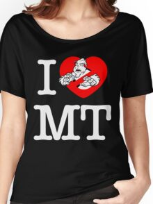I PNW:GB MT (black) Women's Relaxed Fit T-Shirt