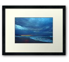 morning clouds I Framed Print