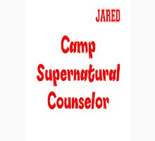Supernatural Camp Counselor Jared Unisex T-Shirt