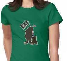 Big Foot Forever Womens Fitted T-Shirt
