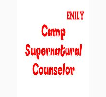 Supernatural Camp Counselor Emily Unisex T-Shirt