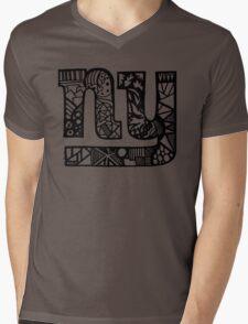 NY Mens V-Neck T-Shirt