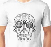 Steampunk Sugar Skull Unisex T-Shirt