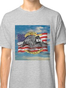 American Eagle and Flag Classic T-Shirt