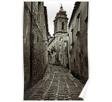 Street of Erice Poster