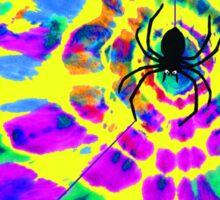 Hippie Spider Sticker