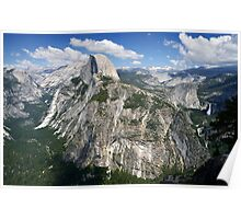 Half Dome and Yosemite Valley in Yosemite National Park Poster