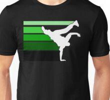 BBOY lines grn/wht Unisex T-Shirt