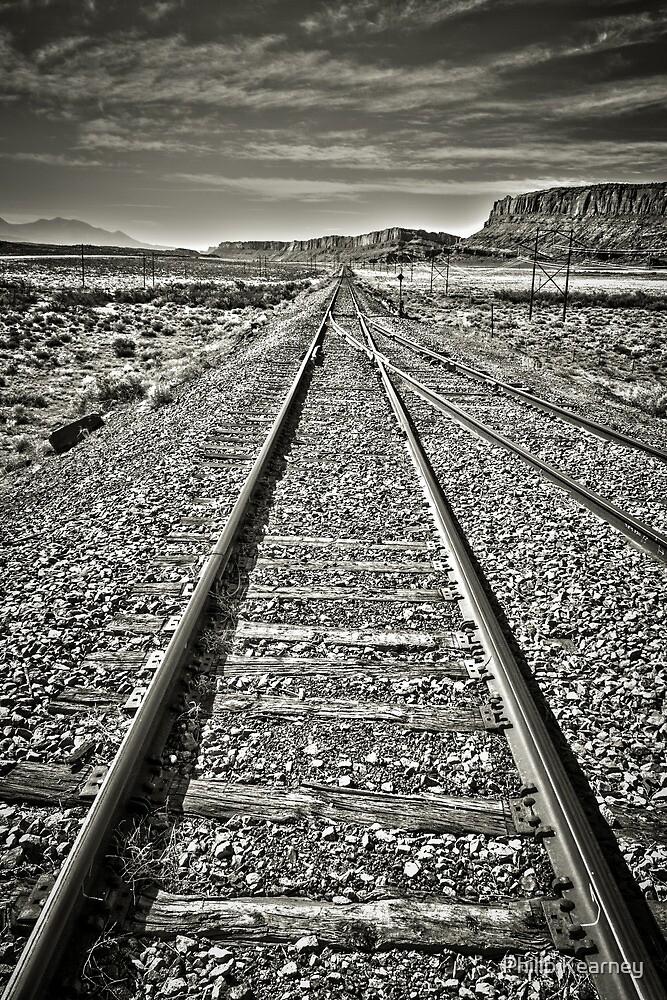Desert Tracks by Philip Kearney