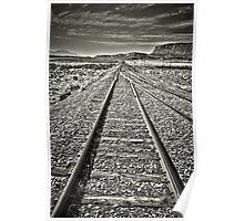 Desert Tracks Poster