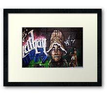 Bronx Graffiti. Jonathan Framed Print