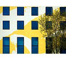 Yellow facade in Berlin Photographic Print