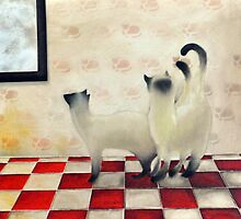 Siam brothers by lillo