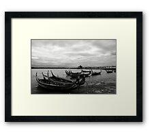 Taungthaman Lake Framed Print