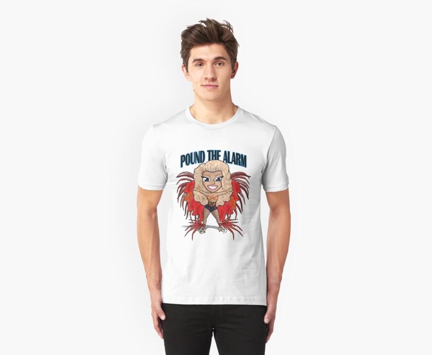 Pound The Alarm T-Shirt by Clayton Wadsworth