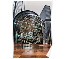 The Willis Tower Globe Poster