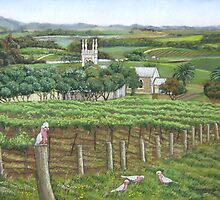 Barossa Galahs by Ann Nightingale