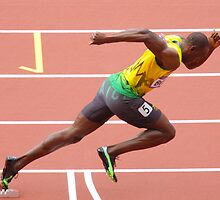 Usain Bolt by Garrington
