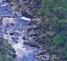 Leven River, Leven Canyon, Tasmania Sticker