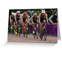 London 2012 Triathlon, Hyde Park - Brownlee Boys Day Out!!! Greeting Card