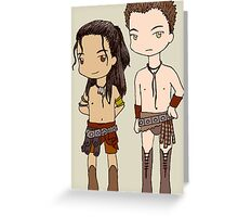 Chibi Nagron Greeting Card