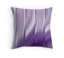 modern cute girly abstract pattern purple Throw Pillow