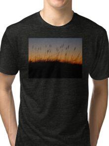 Night Slips Into the Dunes Tri-blend T-Shirt