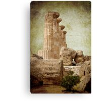 Temple of Heracles Canvas Print