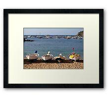 For fishing boats. Framed Print