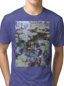 Water Lillies and Gum Trees Tri-blend T-Shirt