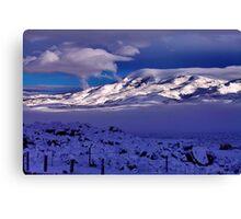 Tule Peak Sunrise Canvas Print
