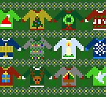 The Ugly 'Ugly Christmas Sweaters' Sweater Design by ArtByAsh