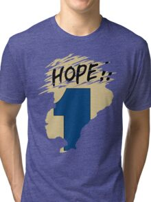 Hope!! (time machine) Tri-blend T-Shirt