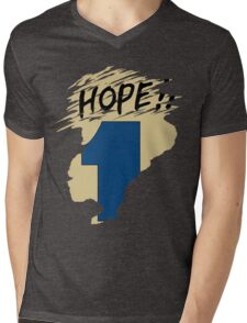 Hope!! (time machine) Mens V-Neck T-Shirt