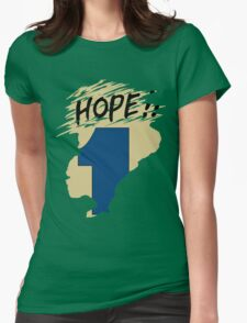 Hope!! (time machine) Womens Fitted T-Shirt