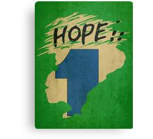 Hope!! (time machine) Canvas Print