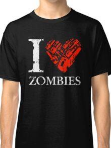 I Love Zombies (Version 02) Classic T-Shirt