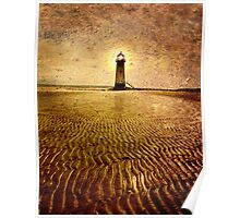 Talacre Lighthouse Point of Ayr Wales Uk Poster