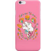 Let's Eat, Unicorn  iPhone Case/Skin