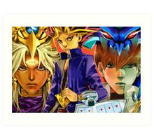 Yu-Gi-Oh - The fated Ones Art Print