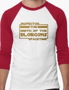 Birth of the Blorgons Men's Baseball ¾ T-Shirt