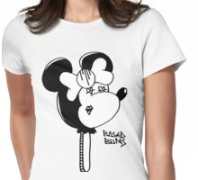 Based Bow Pop Womens Fitted T-Shirt